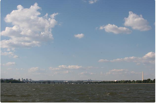 DC from water view
